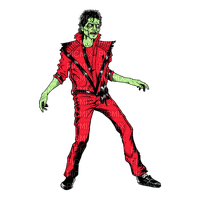 Mickaël Jackson Thriller costume