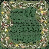 frame christmas pinetree cadre noel