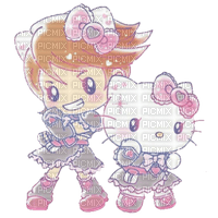 Futari wa Precure Cure Black x Hello Kitty