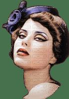 femme,fashion,fille,visage,deko,tube, retro,Pelageya
