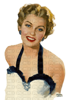 woman dolceluna vintage blonde blond