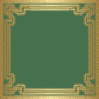 Cadre doré or golden frame
