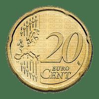 Pièce de 20 centimes euro € coin money sous