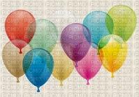 multicolore image encre bon anniversaire color effet ballons  edited by me
