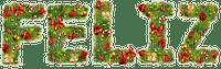 text feliz noel branch