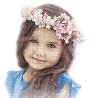 child girl flower crown  spring enfant fleur couronne printemps