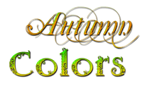 Autumn Colors.Text.Victoriabea