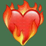 Heart on fire emoji