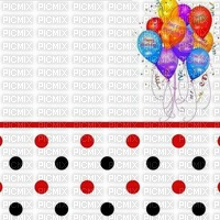image ink happy birthday polka dot  balloons edited by me
