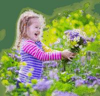 summer child garden enfant êtê jardin