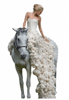 Kaz_Creations Woman Femme On  Horse