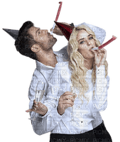 woman femme frau beauty tube human person people    new year silvester  deco  la veille du nouvel an Noche Vieja канун Нового года   man mann homme party couple
