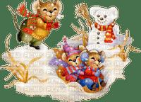 mouse winter souris hiver