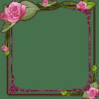 frame pink rose cadre rose rose