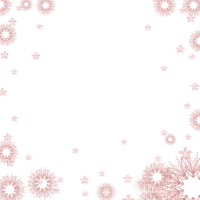 Cadre frame rose pink étoile star cornice