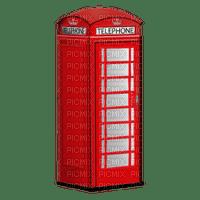 london telephone box red