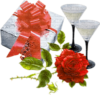 patymirabelle anniversaire,champagne,fleurs