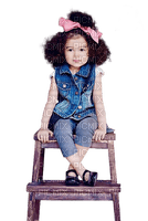 child girl jeans enfant fille 👩👩