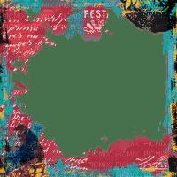 frame cadre rahmen tube filter overlay colorful rouge turquoise