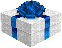 Kaz_Creations Gift Box Birthday Ribbons Bows  Occasion Blue