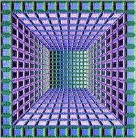 multicolore art image rose bleu multicolored color kaléidoscope kaleidoscope