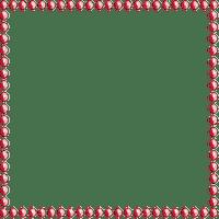 Deco Pearl Frame~Red©Esme4eva