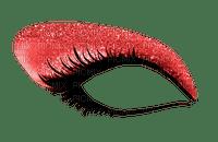 Eye, Eyes, Eyelash, Eyelashes, Eyeshadow, Makeup, Red - Jitter.Bug.Girl