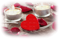 love heart tealights deco amour coeur