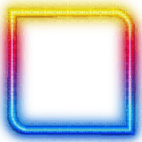 colorful glowing frame