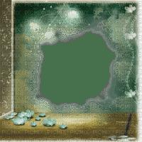 frame cadre rahmen  tube fond fantasy overlay green