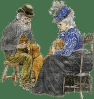 old couple vieux
