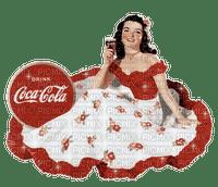vintage coca cola  woman
