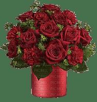Bouquet roses pourpre