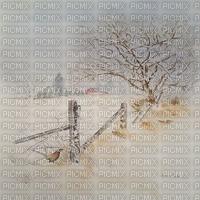 winter hiver fond landscape background