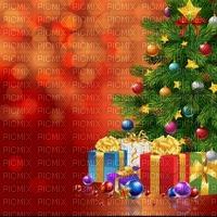 image encre couleur texture sapin cadeaux boules effet edited by me