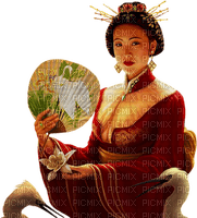 femme-woman-chinese-oriental-Blue DREAM 70