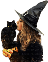 femme witch halloween chat