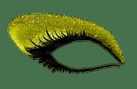 Eye, Eyes, Eyelash, Eyelashes, Eyeshadow, Makeup, Yellow - Jitter.Bug.Girl
