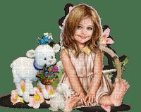 Easter child children girl spring- Pâques ENFANT TUBE enfants fille