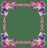 chantalmi   frame cadre fleur flower mauve purple