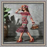 image encre femme mode lunettes de soleil charme chapeau edited by me