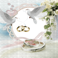 wedding frame  cadre  mariage