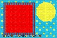 image encre effet néon étoiles cirque carnaval  rayures bonne anniversaire  deco edited by me