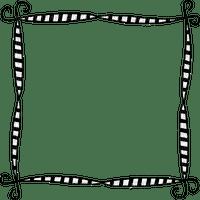 black white frame