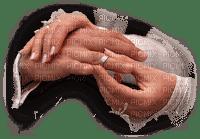 wedding hands ring