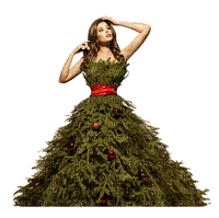 Lady, Ladies, Woman, Women, Girl, Girls, Deco, Winter, Christmas, X-Mas, Tree Dress - Jitter.Bug.Girl