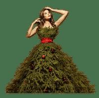 Lady, Ladies, Woman, Women, Girl, Girls, Deco, Winter, Christmas, X-Mas, Tree Dress - Jitter.Bug.Girl