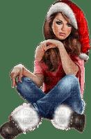 Kaz_Creations Colour Girls Christmas Noel