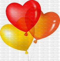 image encre bon anniversaire coeur color effet ballons  edited by me