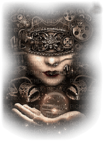 steampunk woman bp